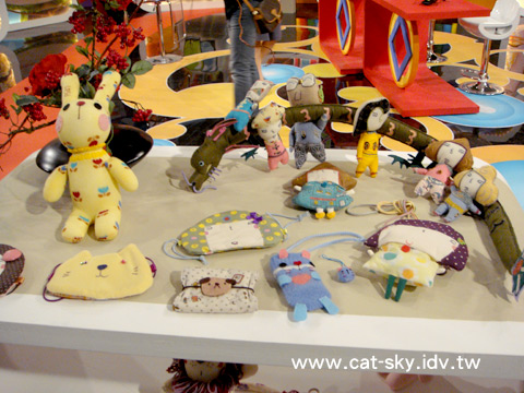 貓小P和Peggy的手工娃娃作品