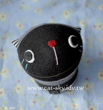 呆呆貓-條紋小黑