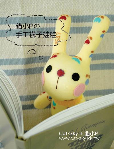 小呆兔Bunny 看書看不懂嗚~