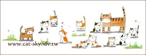 貓插畫-貓物語雜誌no.33