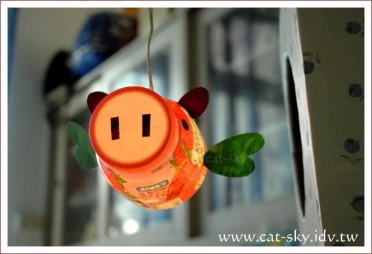 草莓豬小燈籠