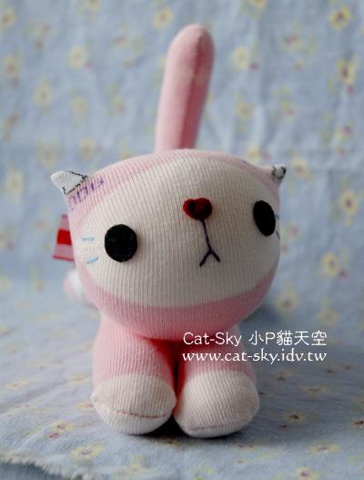 趴趴貓-粉紅貓