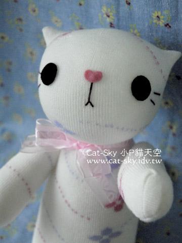 貓小P手製貓偶-cutecat