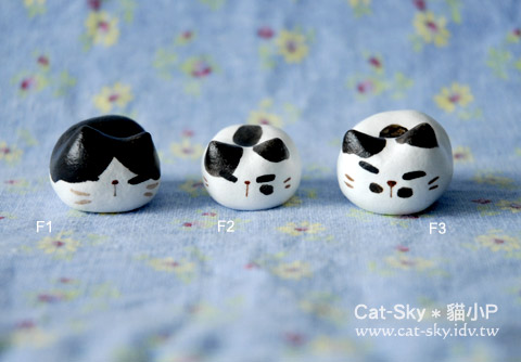貓餃子-黑白貓
