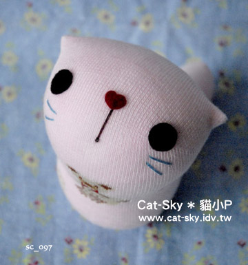 lovelycat呆呆貓-粉紅-小熊(Y)