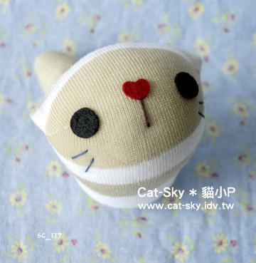 lovelycat呆呆貓-饅頭