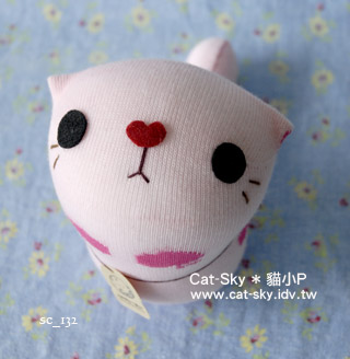 cat-sky呆呆貓 - 粉紅小蘋果X