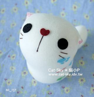 cat-sky呆呆貓- 白泡泡Y