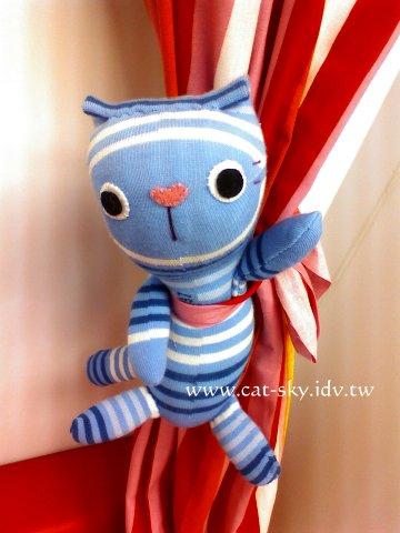 貓小P襪子娃娃-happycoco