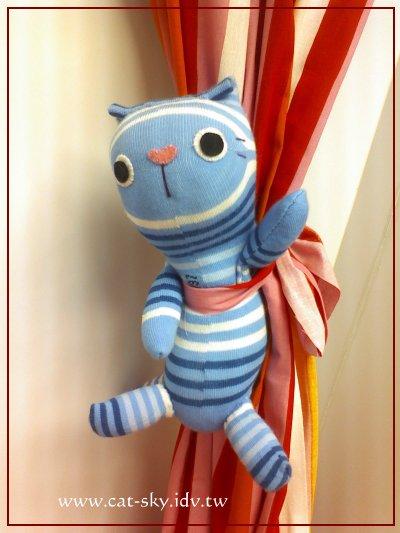貓小P貓咪襪子娃娃-happycoco