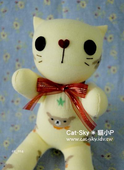 catsky-元氣貓 小黃