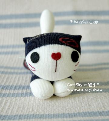 Babycat 黑白小趴貓Y- mimi