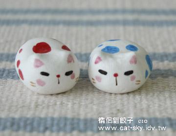 限量手工情侶貓餃子-c10-泡泡情侶貓餃子