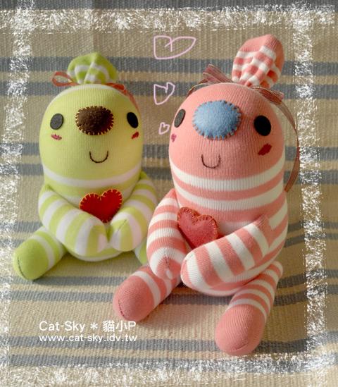 糖果人娃娃 冬冬 和 梅子餅 祝大家情人節快樂喔!