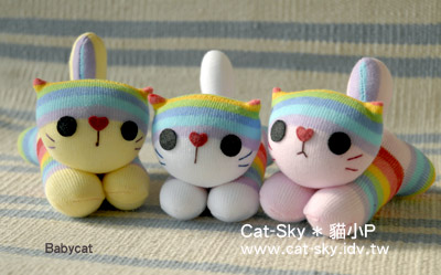 Babycat- 彩紅三姐妹  (襪小貓的S.H.E.)