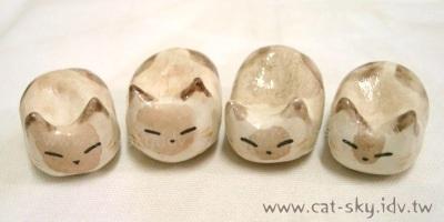 小P貓餃子DIY-喜馬拉雅貓 黑臉黑臉!