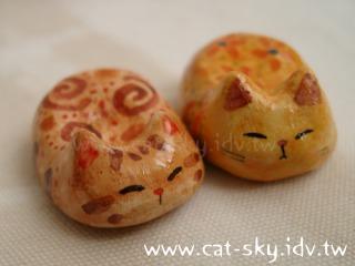 福氣菊花貓 貓餃子