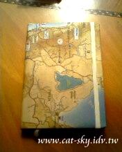 地圖日記本封面-小p製作