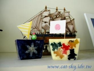 香皂改造小帆船-小p製作