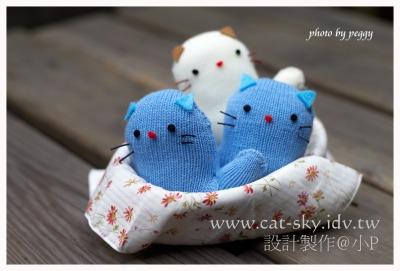 小手套貓咪芳香包