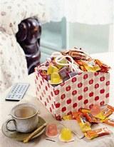 鞋盒變身可愛糖果屋!